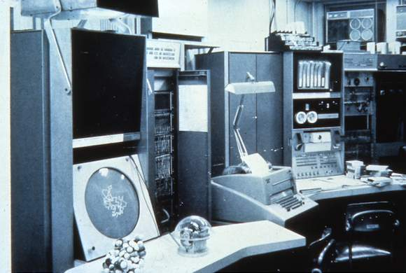 Project MAC display system, circa 1965,